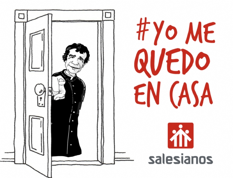 #YoMeQuedoEnCasa: los Salesianos ante la alerta por el Coronavirus