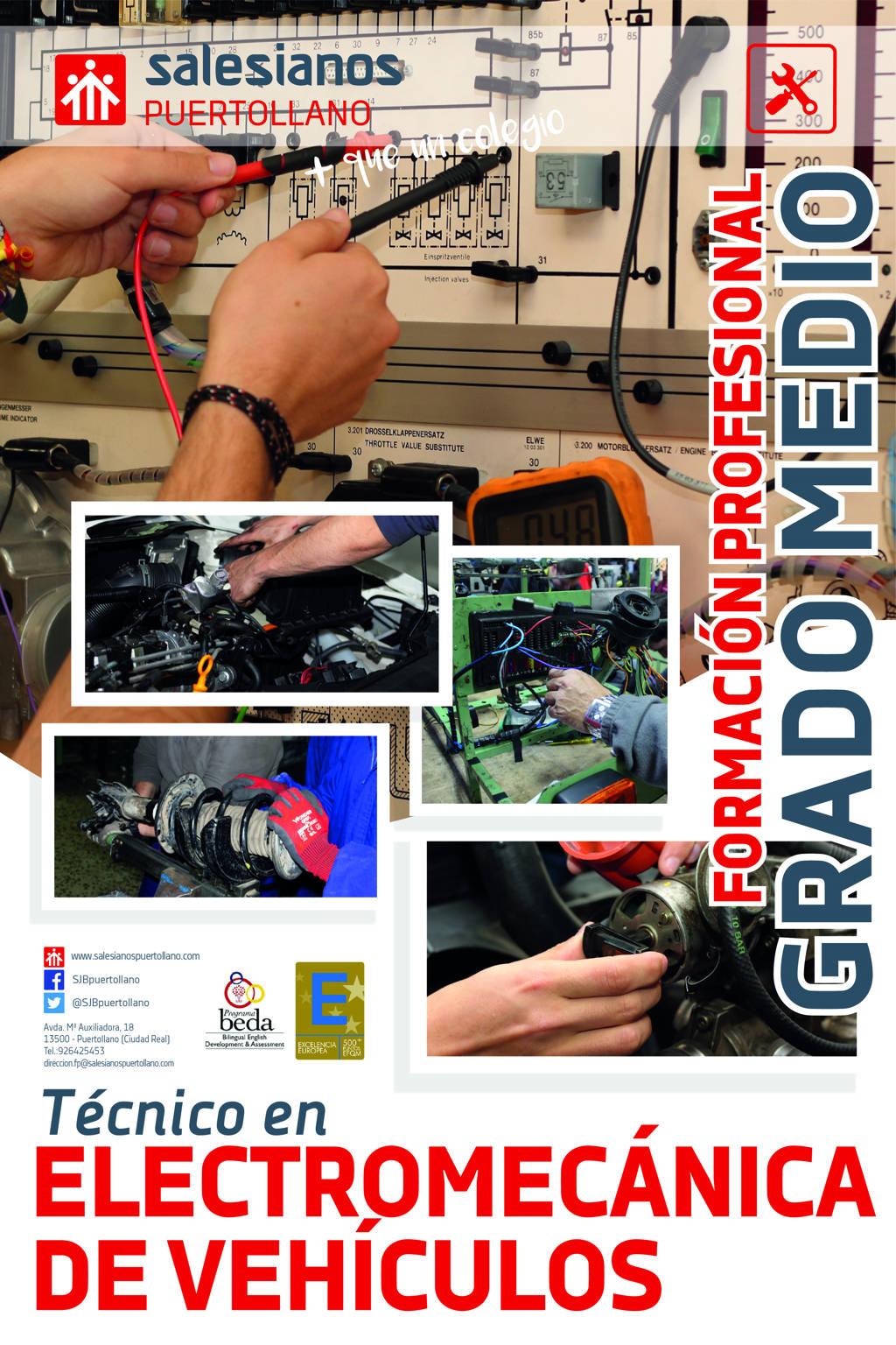Grado Medio Electromecánica de vehículos