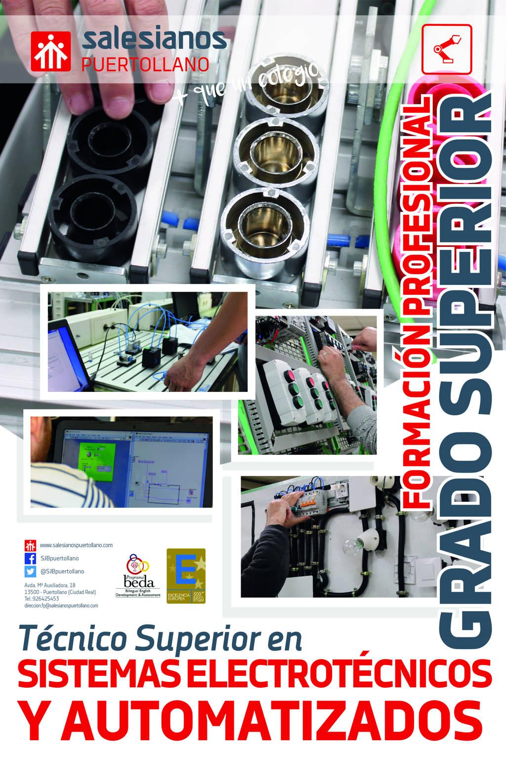 Grado Superior Electrotécnicos y automatizados