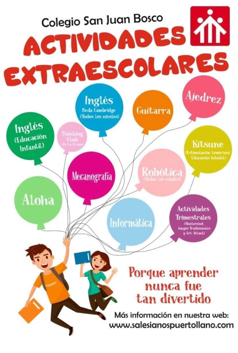 Cartel extraescolares